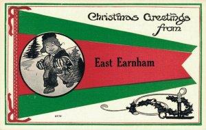 Christmas Greeting From East Earnham Postcard 03.08
