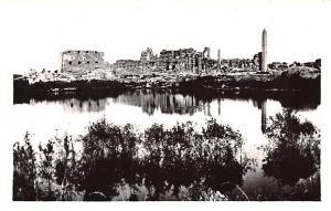 Karnak Egypt, Egypte, Africa Great Temple of Amen Ra and the sacred lake Karn...