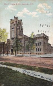 New York Rochester The New York State Armory 1909