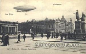 Berlin C.  Zeppelin, Zeppelins Postcard Postcards  Berlin C.