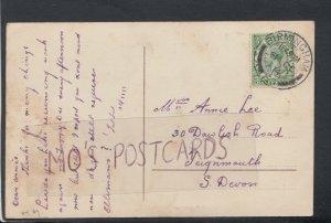 Family History Postcard - Lee - 30 Dawlish Road, Teignmouth, Devon RF4122