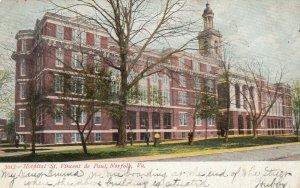 NORFOLK , Virginia ,1907 ; Hospital St. Vincent de Paul