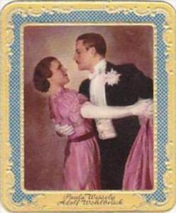 Garbaty Cigarette Card 1934 Modern Beauties No 134 Paula Wessely &  Adolf ...