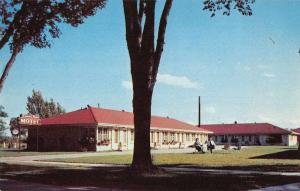 Janesville Wisconsin Lannon Stone Motel Vintage Postcard J60712