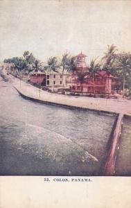 Street along Colon Panama, Panama - pm 1908