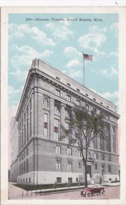 Michigan Grand Rapids Masonic Temple 1921