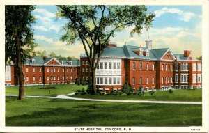 NH - Concord. New Hampshire State Hospital