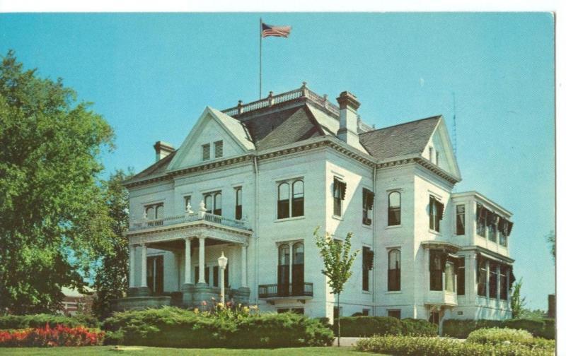 The Governor's Mansion, Springfield Illinois unused Postcard