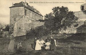 CPA Paris 18e (Dep. 75) Maison de rose de Rosimond (59895)