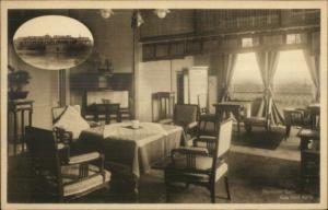 Nara Japan Receiving Room c1910 Postcard EXC COND
