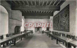 Postcard Modern Montsoreau Chateau The Great Hall of Honor