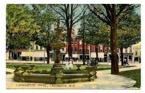 NY -  Fredonia. Lafayette Park