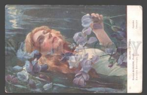 097750 Ophelie in Water by BUSSIERE Vintage SALON colorful PC