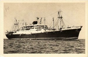 CPA AK Les Paquebots mixtes Caledonien Tahitien SHIPS (783262)