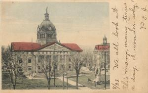 Binghamton NY~Broome Co Court House~1906 PC