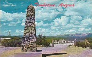 Arizona Tombstone Boot Hill Graveyard 1966