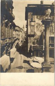 CPA VERONA Piazza Erbe e Corso S. Anastasia. ITALY (448681)