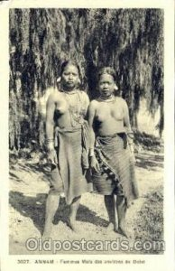 Annam African Nude Unused wear left top corner