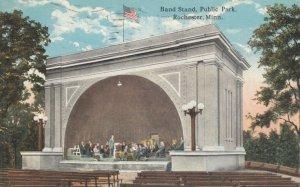 ROCHESTER, Minnesota, 1919; Band Stand, Public Park