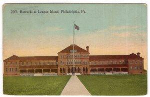 Philadelphia, Pa, Barracks at League Island