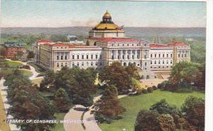 Library Of Congress Washington DC Rotograph