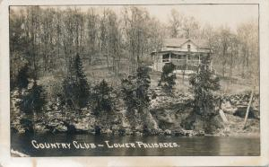 RPPC Country Club on Lower Palisades near Mt Vernon & Cedar Rapids Iowa pm 1917