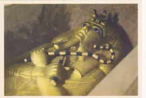 EGYPT, 1940´s; No. 7 Tut Ank Amen´s Treasures, The Third Wooden Coffin Coat...