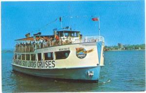 The Nokomis of Soo Locks Cruises Sault Ste. Marie Michigan