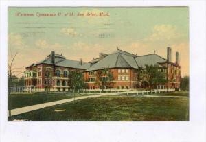 University of Michigan, Ann Arbor , Michigan, PU-1910   Waterman Gymnasium