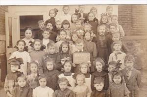 Young School Children Posing Eaton Decmber 1911 Real Photo