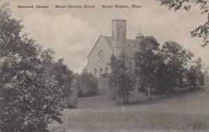 Massachusetts Mount Hermon Memorial Chapel Mount Hermon School