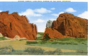 CO - Garden of the Gods, Kissing Camels, Lion Rock