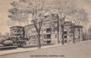 GREENFIELD, Massachusetts, 1900-10s; The Weldon Hotel