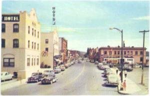 Street Scene in Coeur d'Alene Idaho ID