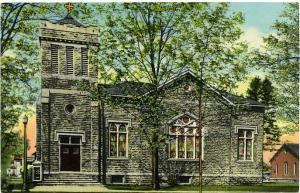 The First Methodist Church - Homer, Cortland County, New York