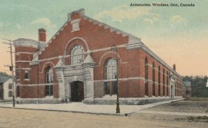 WINDSOR, Ontario, Canada, 1916;  Armouries