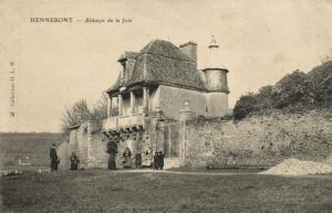 CPA HENNEBONT -  abbaye de la joie  (144933)