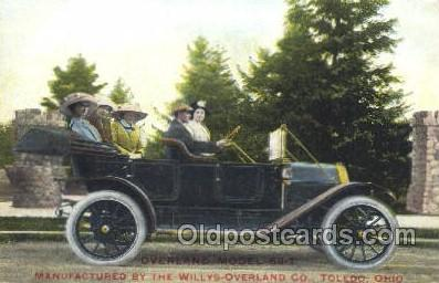 Overland Model 59-T Advertisitng Auto, Automotive, Car, Postcard Postcards  O...