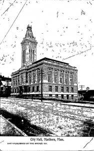 Massachusetts Marlboro City Hall 1909