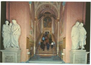 Italy, Rome, Roma, La Scala Santa, The Holy Stairs, unused Postcard
