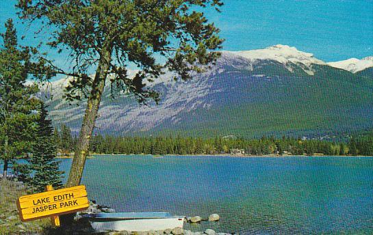 Canada Lake Edith Jasper Alberta