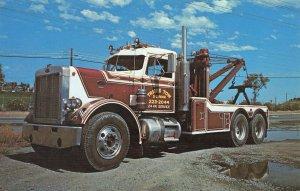San Francisco CA Travis Tow Car & Truck Service Postcard