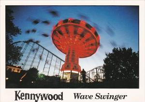 Pennsylvania West Mifflin Kennywood Amusement Park Wave Swinger