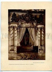 434979 RUSSIA Petersburg Tsarskoye Selo bedroom Alexander I Matveev postertype