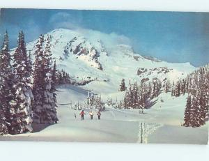 Unused Pre-1980 SKIING IN PARADISE VALLEY IN MALTBY Seattle Washington WA r8708