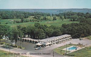1000 Islands , GANANOQUE , Ontario , Canada , 50-60s ; Country Squire Motel