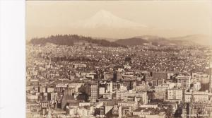 RP, Mt. Hood From Portland, Oregon, 1920-1940s