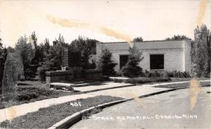 Osakis Minnesota~Stage Memorial~1950 Real Photo Postcard~RPPC