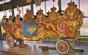 Florida Sarasota Two Hemispheres Bandwagon Circus Hall Of Fame