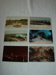 St. Paul MN - Lot Of 6 Great Vintage Postcards - x0516